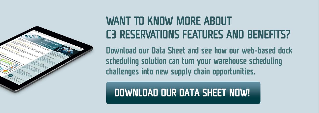 CTA - C3 Reservations Data Sheet