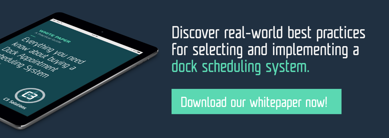 white paper practical guide dock scheduling