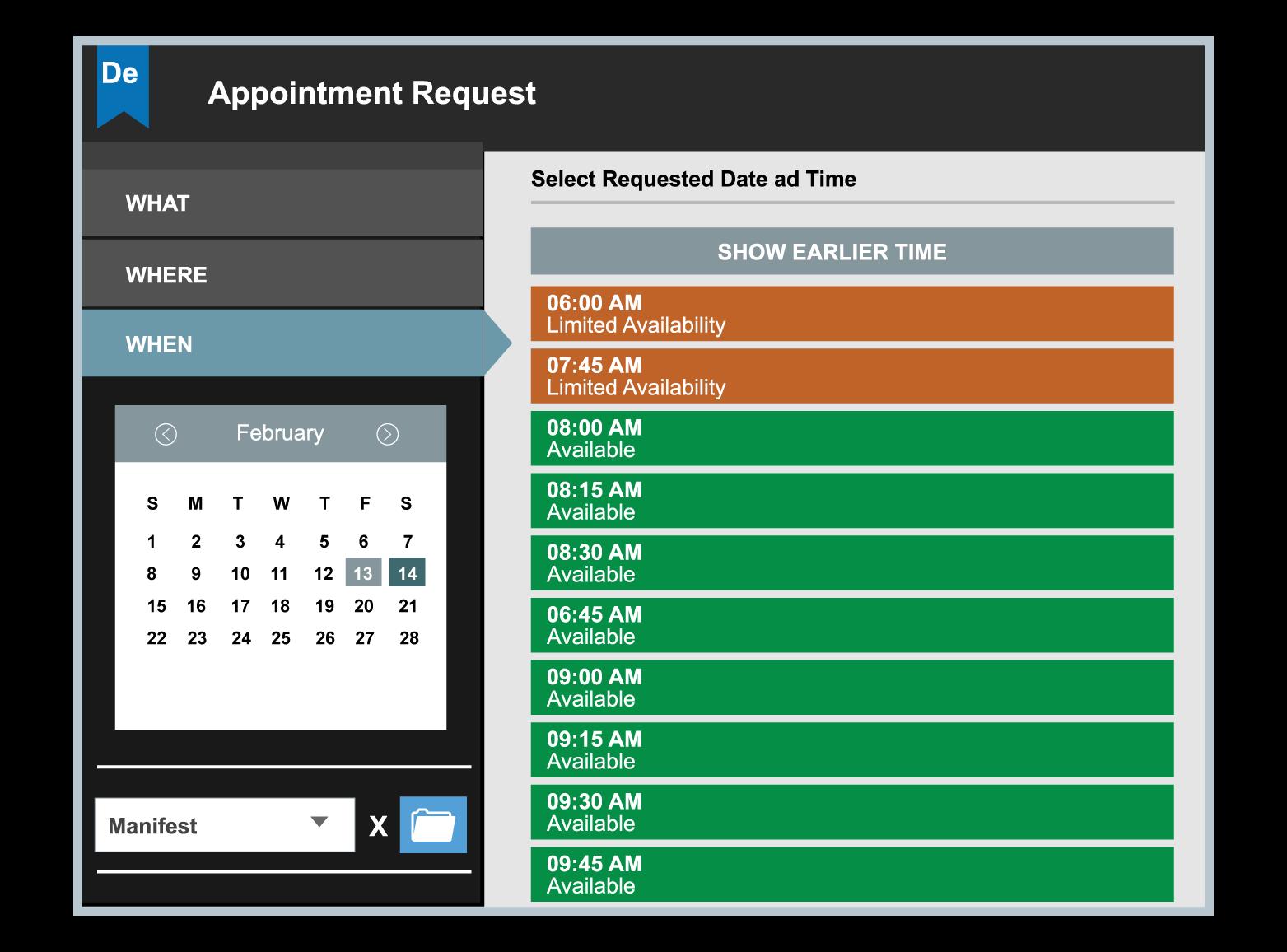 Dock Scheduling Software