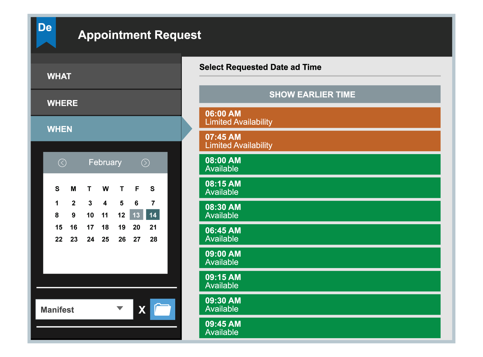 dock scheduling software Common myths about dock scheduling company visionaries my vendors will never buy into the new scheduling process a dock scheduling software is.