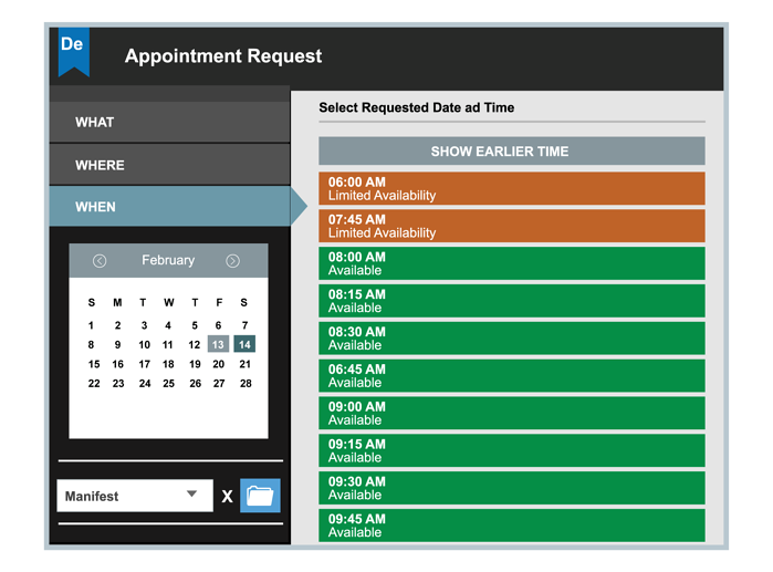 Dock Scheduling Software