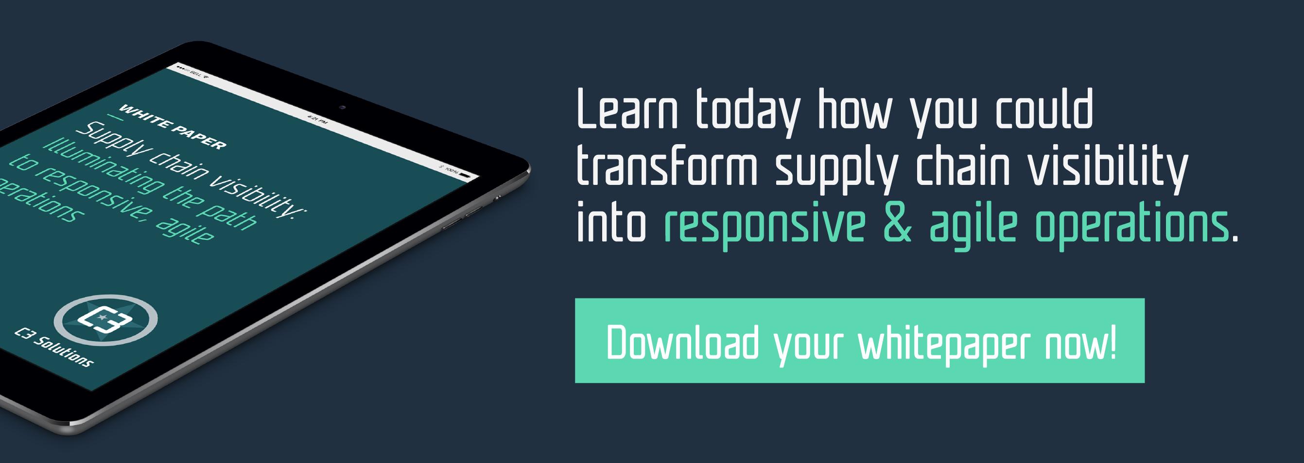 Supply Chain Visibility White Paper