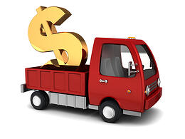 Truck and dollar sign-2