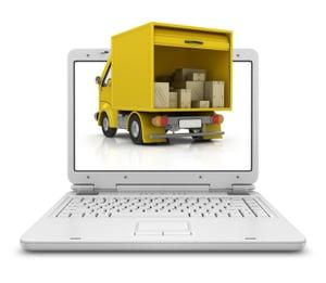 Truck in computer-2
