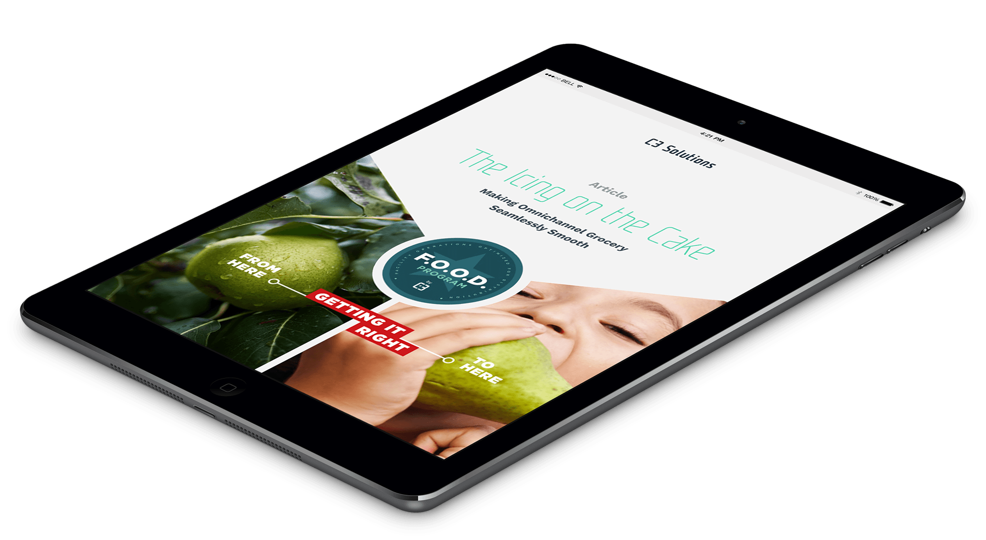 Making omnichannel grocery seamlessly smooth